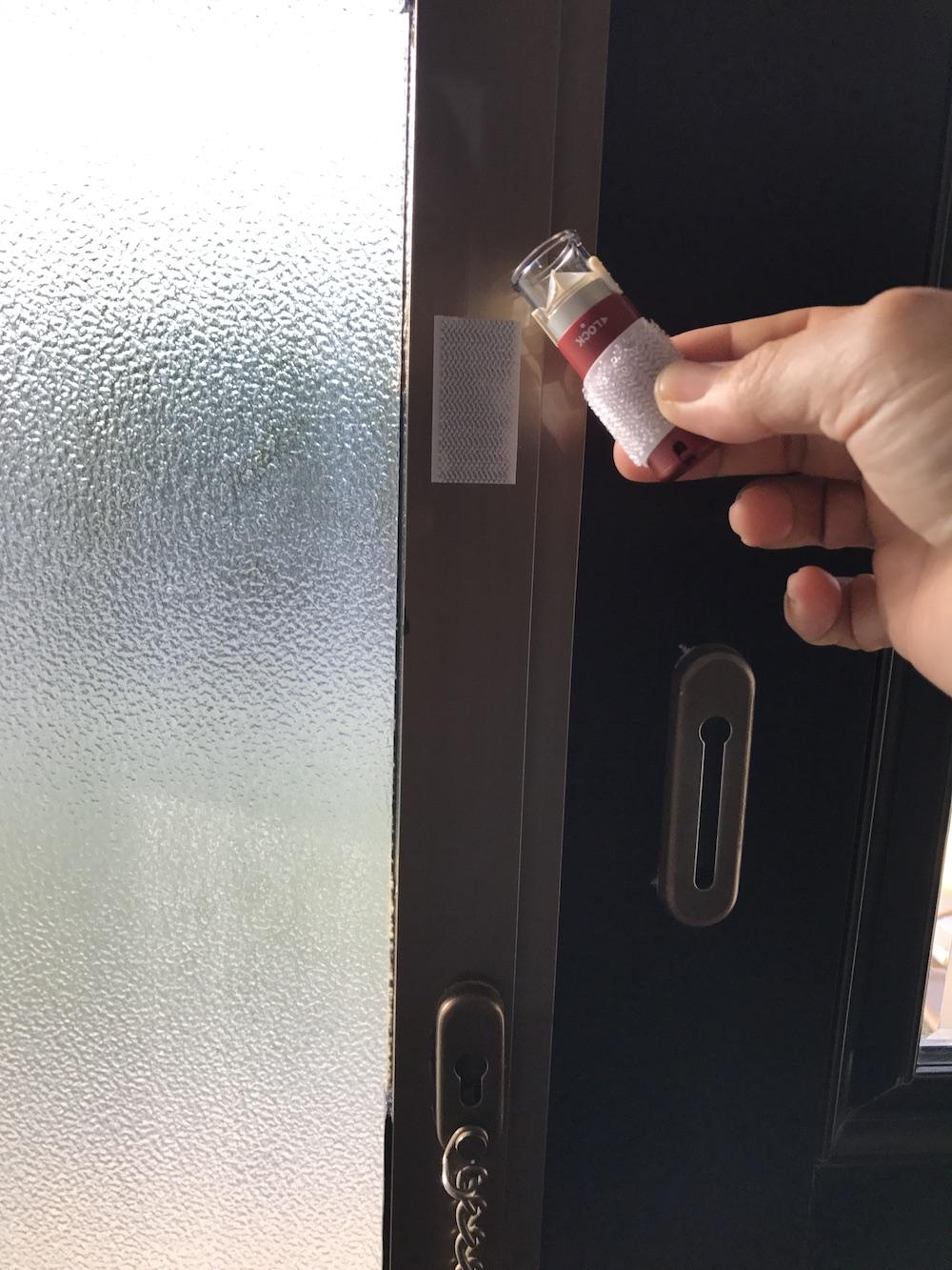 玄関にシャチハタをくっつけておくのが便利だよ〜