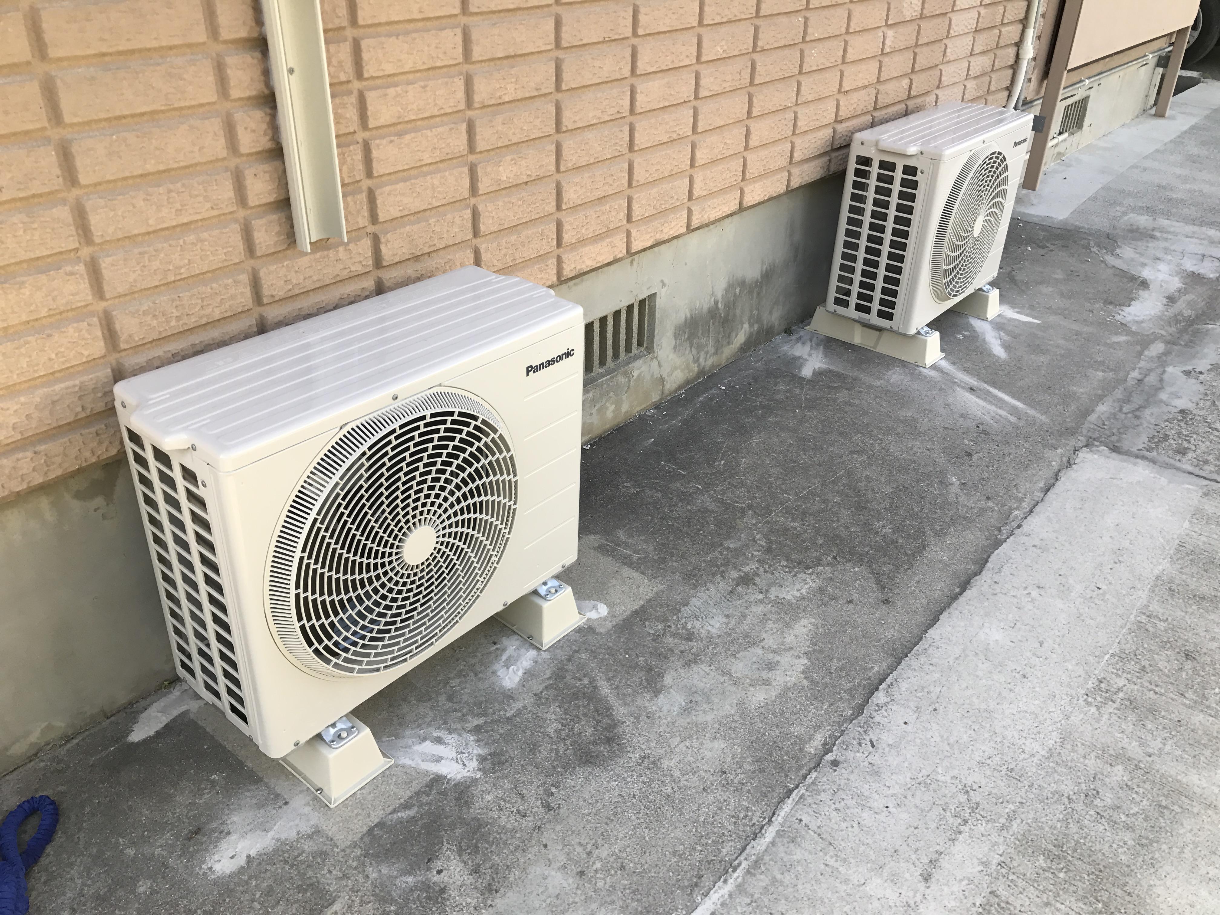エアコン設置準備