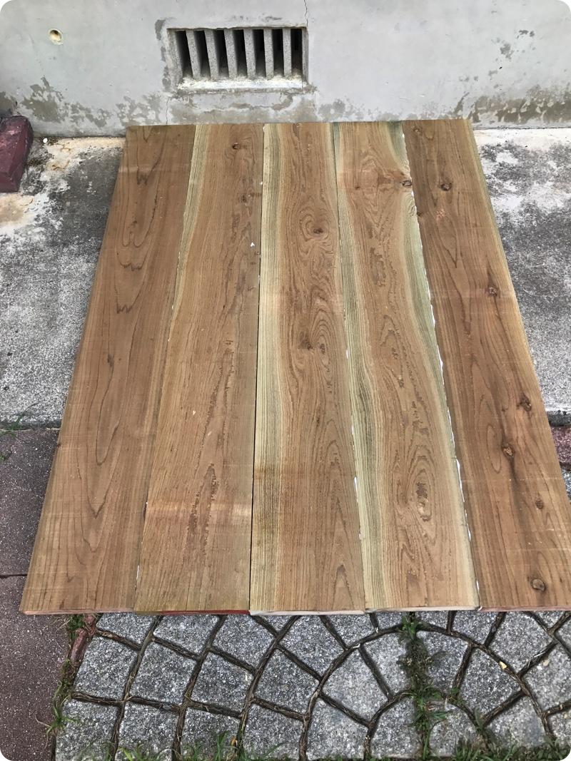 ガーデンテーブル作り その①