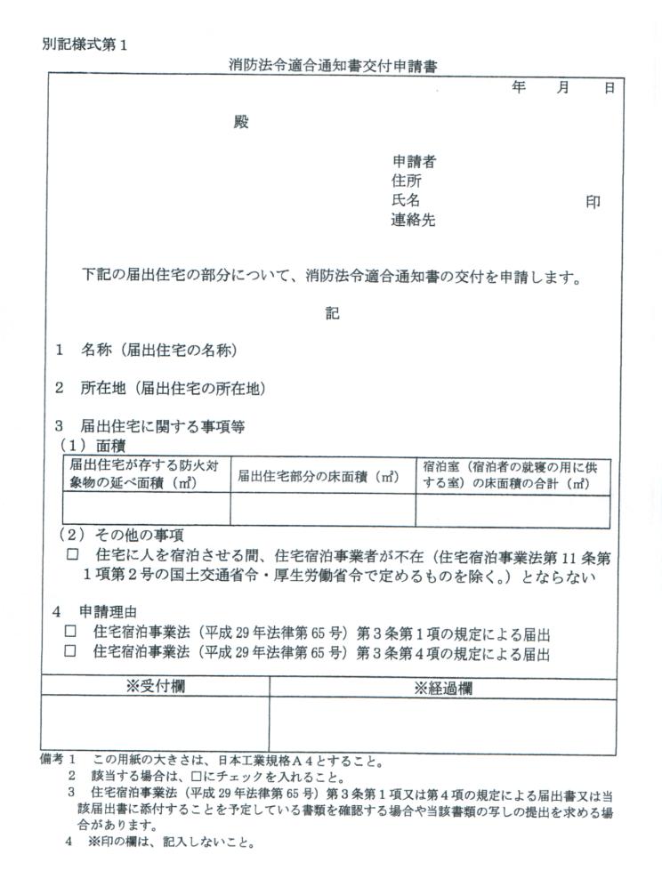 民泊申請、なぜだか沖縄県は消防の検査が必要らしい