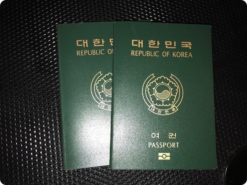 韓国から女性2人が来島