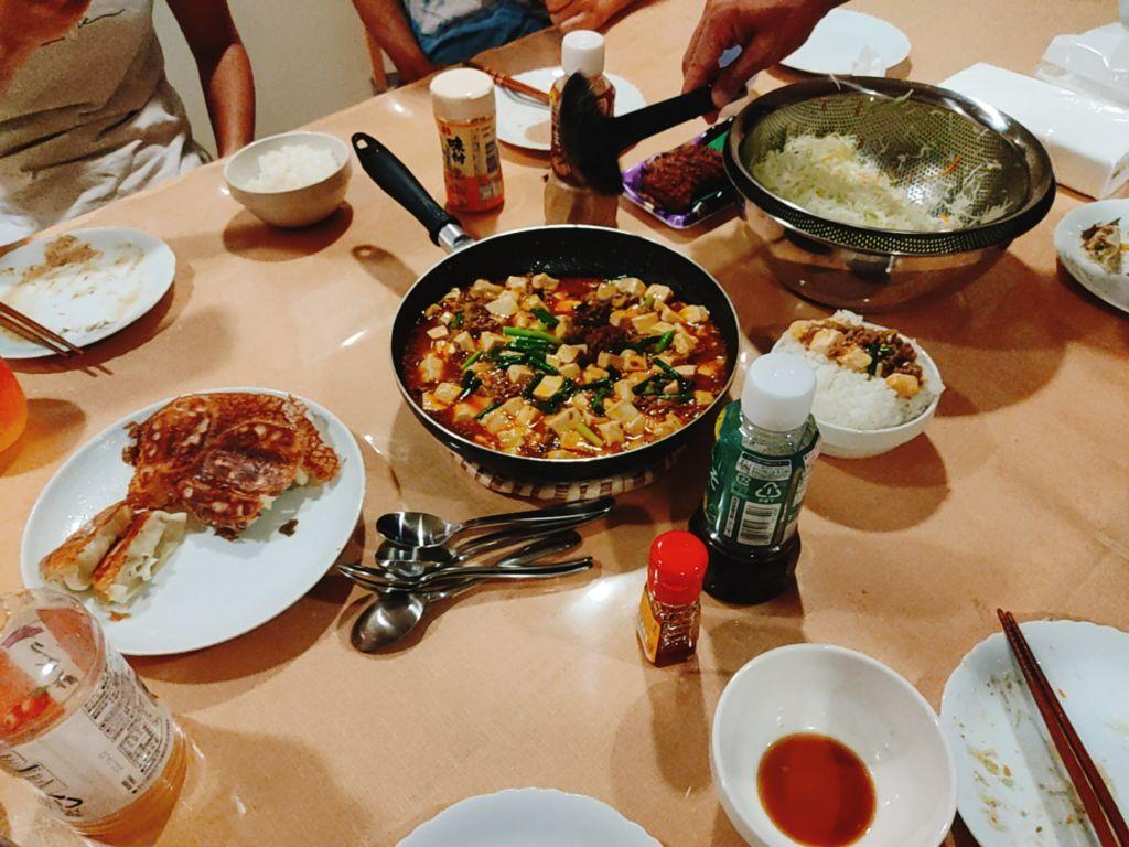 麻婆豆腐パーティー